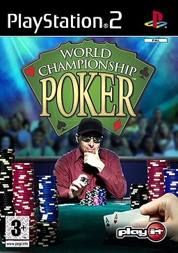 PAL region PS2 cover art of World Championship Poker