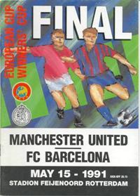 1991 European Cup Winners Cup Final Football match