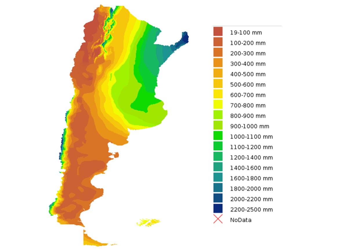 Climatic regions of Argentina - Wikipedia  |Argentina Rainfall