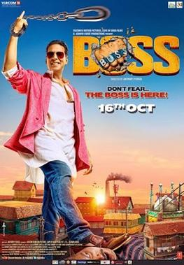 Boss (2013) DM DVD - Akshay Kumar, Ronit Roy, Mithun Chakraborthy, Aditi Rao Hydari, Shiv Pandit, Johnny Lever, Danny Denzongpa, Sanjai Mishra, Mukesh Tiwari, Parikshit Sahni, Sonakshi Sinha, Prabhudeva, Honey Singh
