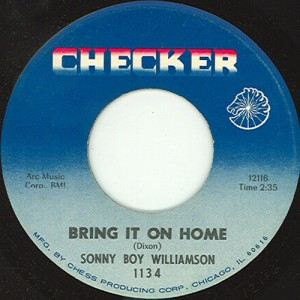 Bring It On Home (Sonny Boy Williamson II song) song