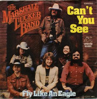 Cant You See (The Marshall Tucker Band song) 1973 single by The Marshall Tucker Band