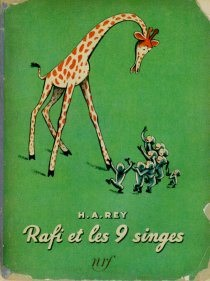 <i>Cecily G. and the Nine Monkeys</i> book by H. A. Rey