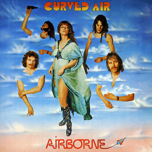 <i>Airborne</i> (Curved Air album) 1976 studio album by Curved Air