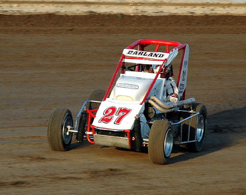 Dave Darland in a midget at Belleville, Ks..JPG