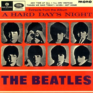 Extracts from the Album A Hard Day's Night artwork