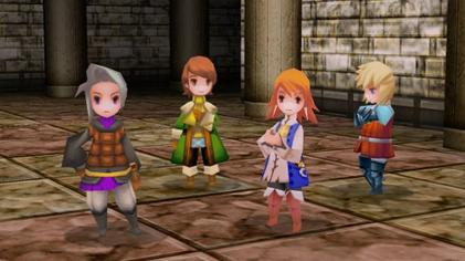 Main characters of the 3D remake Final Fantasy III characters 3d remake.jpg
