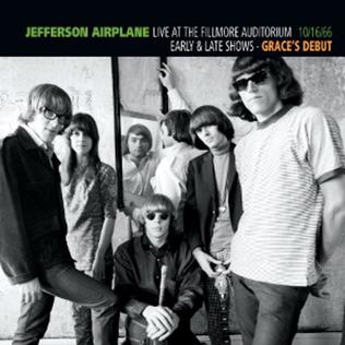 <i>Graces Debut</i> 2010 live album by Jefferson Airplane