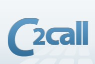 "The word ""C2Call"", C2Call's current corporate logo."