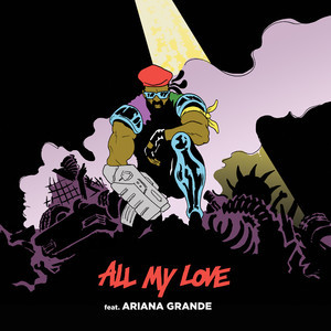 Major Lazer featuring Ariana Grande — All My Love (studio acapella)