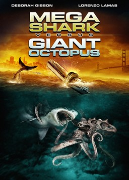 Region 1 DVD cover for the 2009 film Mega Shar...