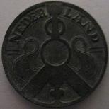 2½ cents (World War II Dutch coin)