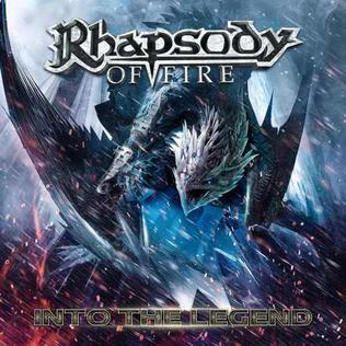 <i>Into the Legend</i> album by Rhapsody of Fire