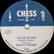 Rollin Stone 1950 song performed by Muddy Waters