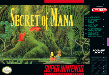 Secret of Mana game art