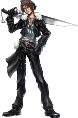 Squall Leonhart - Wikipedia Final Fantasy Rinoa And Squall