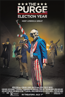 The Purge: Election Year (2016) Dual Aduio {Hindi-English} 480p | 720p