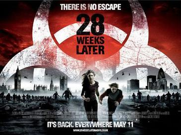 28 Weeks Later (2007) movie poster