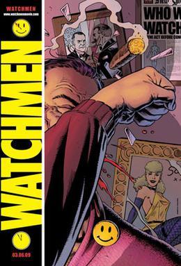 [Bàn luận] Các bộ truyện tranh thể loại comic Watchmen_poster