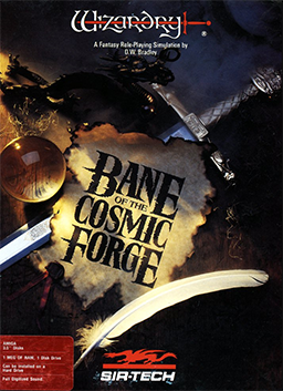 Wizardry VI - Bane of the Cosmic Forge Coverart.png
