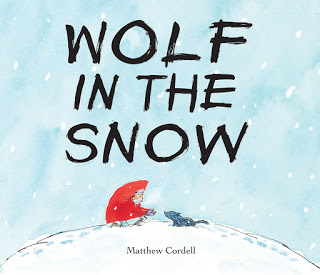 <i>Wolf in the Snow</i> 2017 wordless picture book