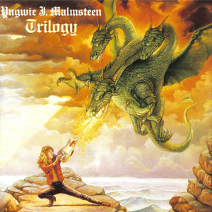 "Yngwie Malmsteen's ""Triology"" album [Fair use]"
