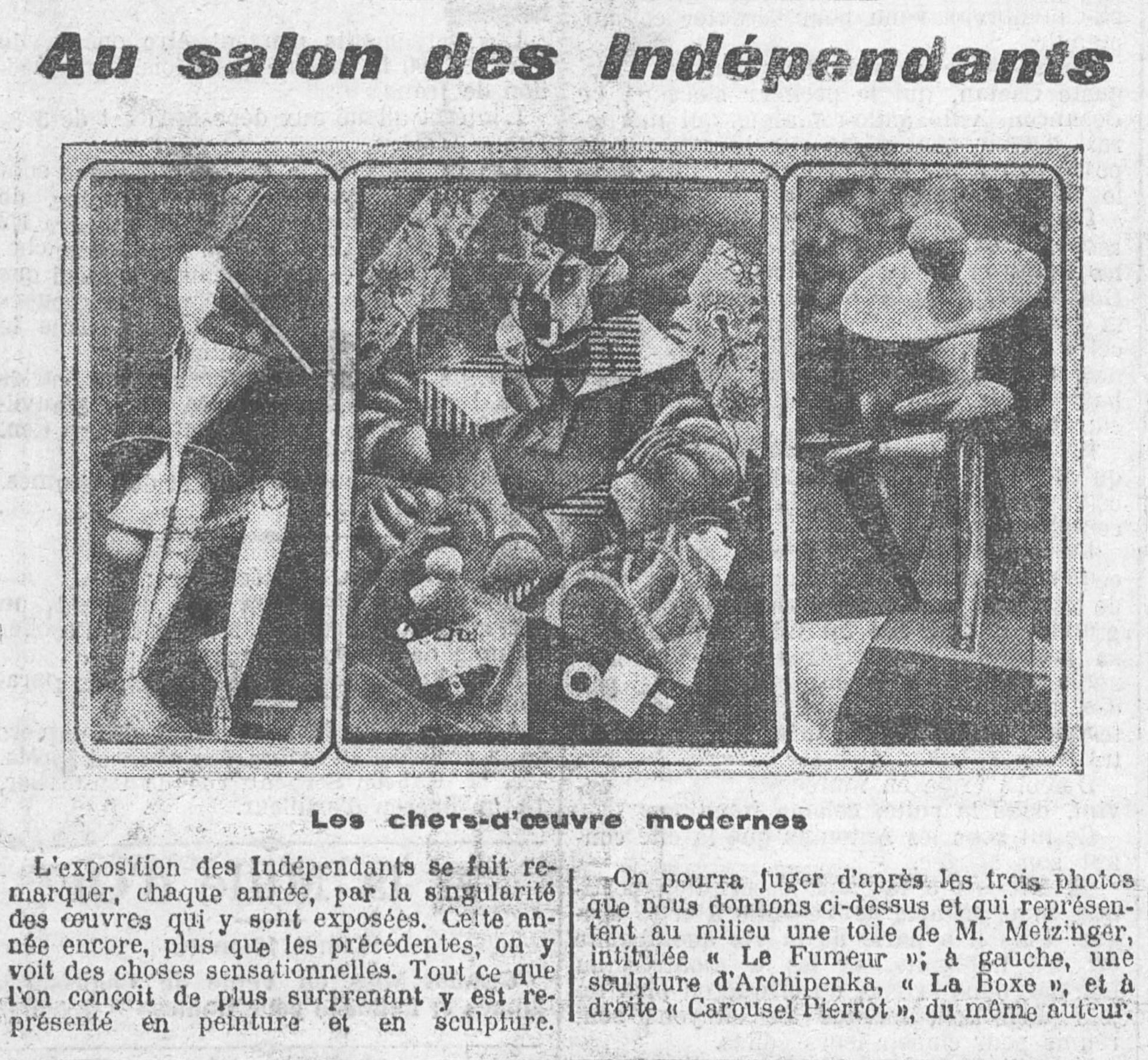 File au salon des ind pendants le petit comtois 13 march for Le salon des independants