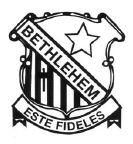 Bethlehem College crest. Source: www.bethlehemcollege.nsw.edu.au (Bethlehem College website)