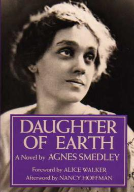 Cover of 1987 edition by the Feminist Press of Smedley's Daughter of Earth DaughterOfEarthCover.jpg