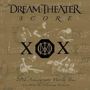 <i>Score</i> (Dream Theater album) live album by Dream Theater