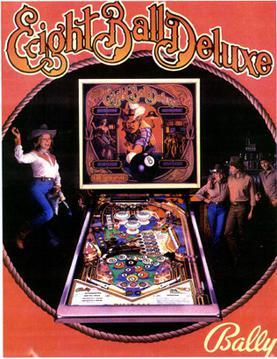 eight pinball machine