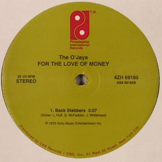 For the Love of Money 1973 single by The OJays