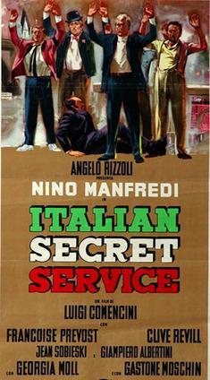 Les Russes ne boiront pas de Cola-Cola  (Italian secret service) -1968 - Luigi Comencini   Italian_Secret_Service