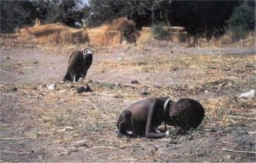 Kevin Carter Child Vulture Picture