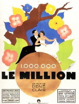 Le million (1931) movie poster