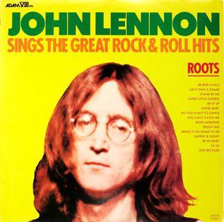 ROOTS: John Lennon Sings The Great Rock & Roll Hits artwork