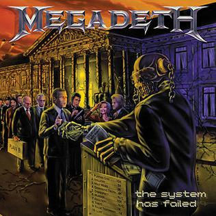 <i>The System Has Failed</i> 2004 studio album by Megadeth