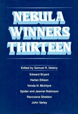 <i>Nebula Winners Thirteen</i> book by Samuel R. Delany