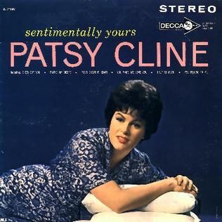 <i>Sentimentally Yours</i> 1962 studio album by Patsy Cline