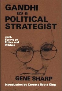 <i>Gandhi as a Political Strategist</i> book by Gene Sharp