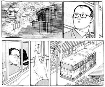 Extract from Aruku Hito (The Walking Man) Taniguchi.png