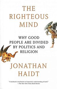 book by Jonathan Haidt