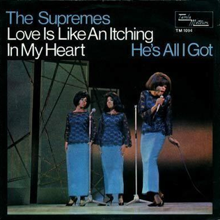 Love Is Like an Itching in My Heart 1966 single by The Supremes