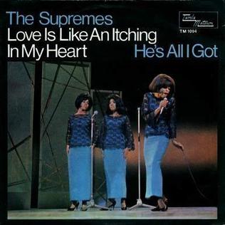 翻唱歌曲的图像 Love Is Like an Itching in My Heart 由 The Supremes