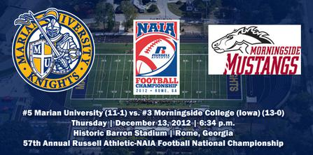 2012 NAIA Football National Championship - Wikipedia