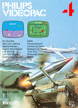 Air-Sea War - Battle (Europe) Armored Encounter! / Subchase! (US)