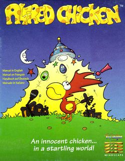 SNES - Alfred Chicken Box Art
