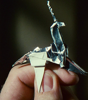 Image result for origami unicorn blade runner