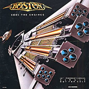 Cool the Engines 1986 song performed by Boston