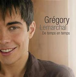 Cubra la imagen de la canción De temps en temps por Grégory Lemarchal